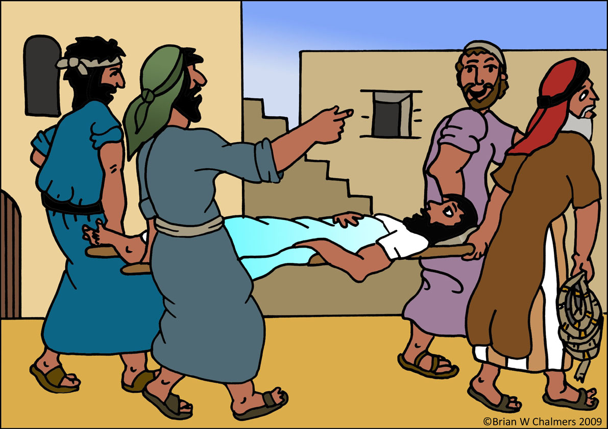 Jezus zdrowy w paralityka